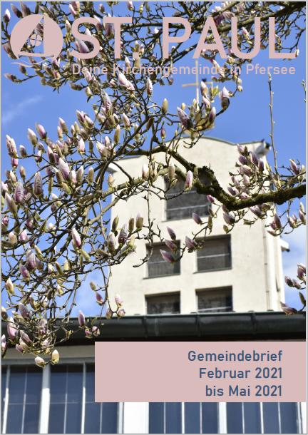 Gemeindebrief 1/21